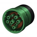 J1937 Type 2 Diagnostic Plug