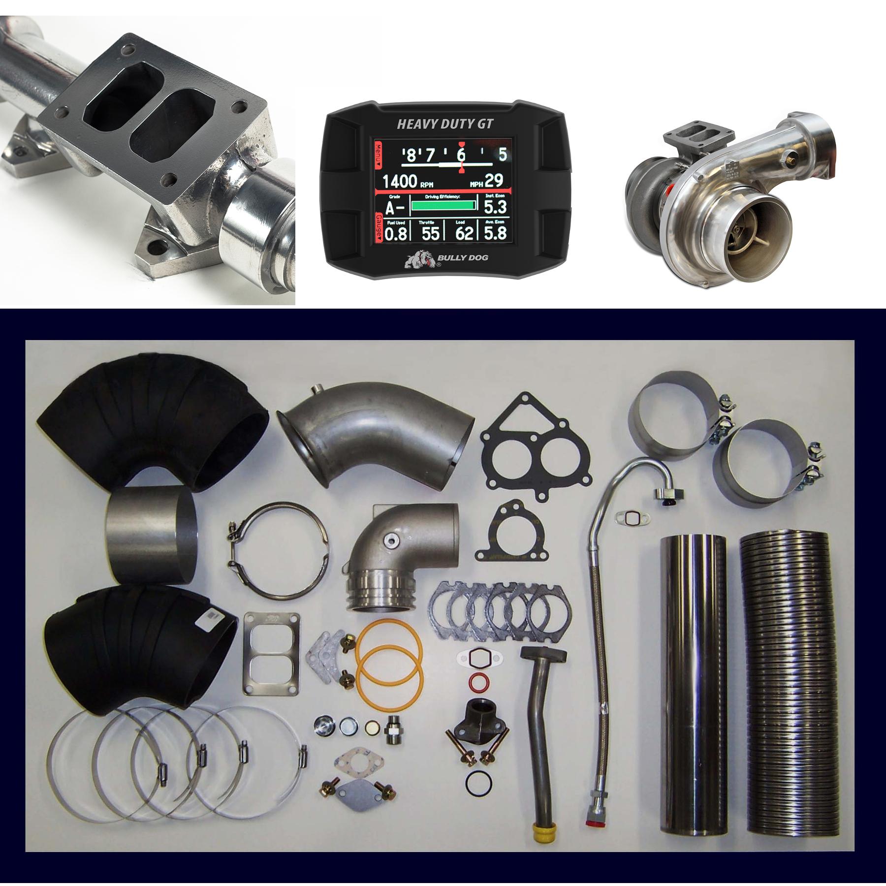 Cat C15 Single Turbo Conversion Kit